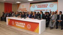Élections générales : les candidats de l'Alliance Morisien