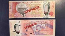 Voici le nouveau billet de Rs 2000