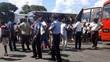 Opération crackdown sur les gares routières : forte présence policière pour épingler les fauteurs de troubles
