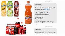 Consommation : plusieurs boissons en rupture de stock