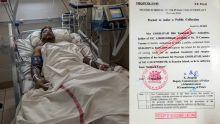 Son permis de collecte prendra fin le mois prochain : elle sollicite une aide financière pour son époux malade