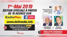 [A ne pas rater ce mercredi] Rassemblements politiques du 1er-Mai : édition spéciale sur Radio Plus, defimedia.info et notre page Facebook