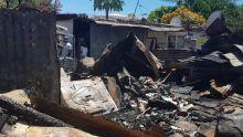 Leur maison détruite dans un incendie : Une famille de 12 personnes sans toit