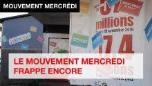 [Publi-reportage] Affiches et graffitis sur les boutiques : LE MOUVEMENT MERCREDI FRAPPE ENCORE