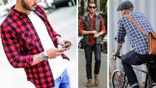 Homme - La chemise à carreaux : à la fois élégante et décontractée
