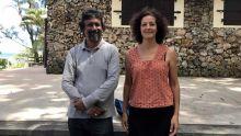 Amarnath Hosany et Solene Coiffic
