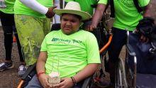Atteint de dystrophie musculaire : Krishi, 11 ans, raconte son aventure au Ciel Ferney Trail