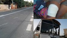 Le Morne : un bus traîne un autre sur une distance de 35 m