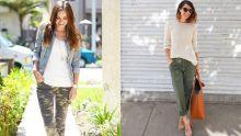 Pantalons cargo : féminiser le look army