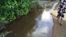 À Pamplemousses : une fuite pas réparée depuis plusieurs mois