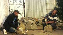Tailleurs de pierre : Patrick et François, deux frères réunis dans le même métier