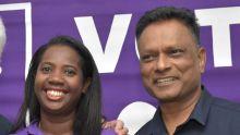 Á Route Hugnin, Rose-Hill : Deven Nagalingum et Jenny Adebiro font du porte-à-porte