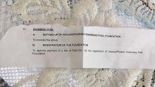 Mairie de Vacoas/ Phœnix : polémique autour d'une fondation pour une piscine de Rs 175 M