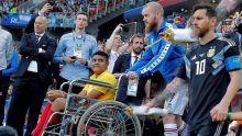 Le Mauricien Keshan rencontre Lionel Messi