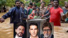 Les inondations meurtrières au Kerala : Shah Rukh Khan, Akshay Kumar et Big B font des dons pour sauver cet État