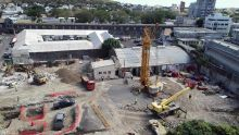 En chantier depuis trois semaines : Cim érige un espace administratif et commercial à Port-Louis