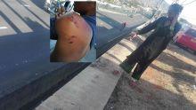 Pour avoir défendu sa mère : un ado poussé d'une hauteur de trois mètres sur l'autoroute
