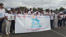 La famille rotarienne se joint  à la marche de la paix