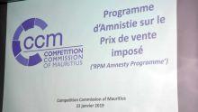 Projet d'amnistie : la Competition Commission rend public son premier rapport