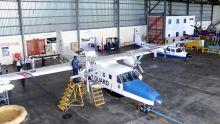 Aéroport de Plaisance : petit tour dans le hangar d'avions de la police