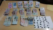 Dans l'Est : le vendeur de gandia coffré avec Rs 76.000