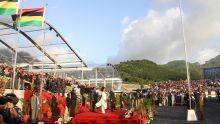 La Chine et le secteur privé ont donné Rs 9 millions pour la fête nationale