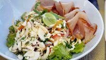 Recette : Salade de marlin fumé