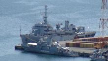 L'INS Sarvekshak, navire dédié à l'étude des fonds marins, dans nos eaux
