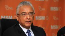 Bureau politique MSM : Pravind Jugnauth pointe du doigt certaines circonscriptions