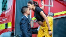 Christina et Clarel Mélin : des pompiers tout feu tout flamme