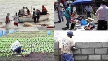 Confinement total - Secteur informel: la situation des travailleurs dans le rouge, selon leurs représentants