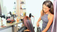 Coiffure et maquillage :  Jenny Calinghee a réalisé son rêve d'enfance