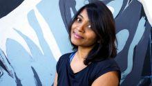Bristol, Grande-Bretagne : Joshila Dhaby a participé au Upfest Street Art Festival