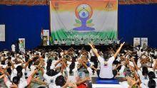 Practicing yoga helps towards maintaining good health