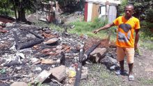 Maison détruite par un incendie - Jean-Marie : «Aidez-moi à me reconstruire un toit»