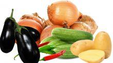Au marché ce mois-ci : aubergine, pomme de terre, piment, concombre et oignon plus chers