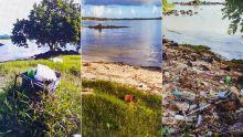 À Choisy, Poste-de-Flacq : une plage laissée pour compte devient un dépotoir