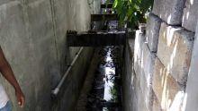 Vallée-des-Prêtres : un passage naturel d'eau rétréci