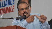 Ramjuttun apporte son soutien à l'Alliance Nationale