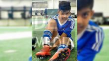 Ishaan Ramphul, 11 ans, va s'entraîner à Barcelone