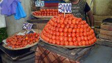 Mercuriales : la pomme d'amour à Rs 30 le demi-kilo