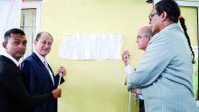 Inauguration d'un complexe sportif à Cité Anoska