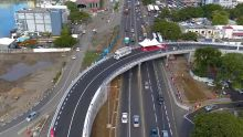 Decaen Fly-Over in Port Louis now operational
