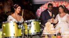 Ça buzz sur Facebook : Neha Richardson ou quandla mariée se met à la batterie