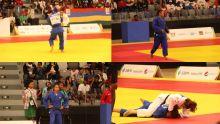 JIOI - Judo : Christiane Legentil et Kimberley Jean-Pierre accèdent aux demi-finales de leur catégorie