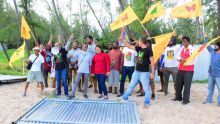 «Opération liberasyon la plaz à Pomponette» de Resistans ek Alternativ et Aret Kokin Nou Laplaz