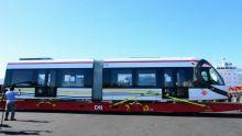 Metro Express : le second Light Rail Vehicle est arrivé