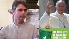 Les affiches «Le Pape a dit» : « Nous n'avons fait que relayer le message du Pape » dit Sébastien Rousset