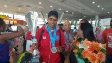 Kick-boxing : Accueil chaleureux pour le champion du monde Robertson