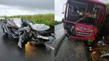 L'Escalier : un accident entre un autobus et un 4x4 fait un mort